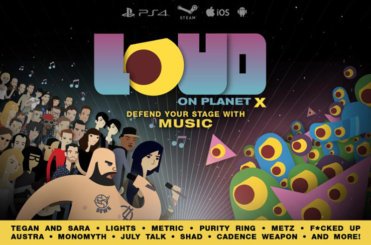 'LOUD on Planet X' Videogame with Fucked Up, METZ, Purity Ring Set for April Release