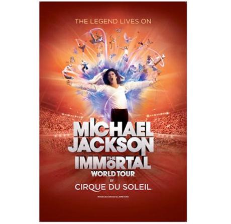 Michael Jackson's Cirque Du Soleil Tour Announces Canada/U.S. Dates