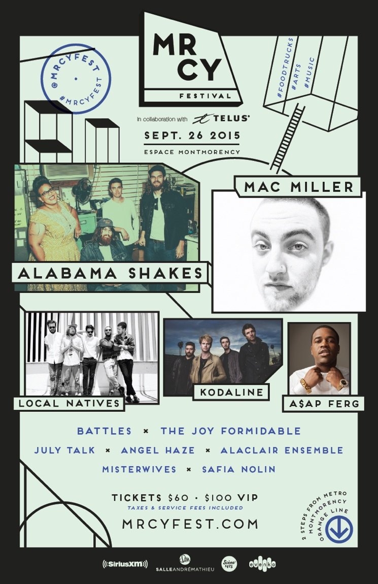 MRCY Festival Expands 2015 Lineup with Battles, Alabama Shakes, Mac Miller