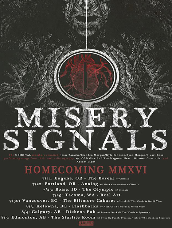 "Misery Signals Emerge for ""Homecoming MMXVI"" Tour"