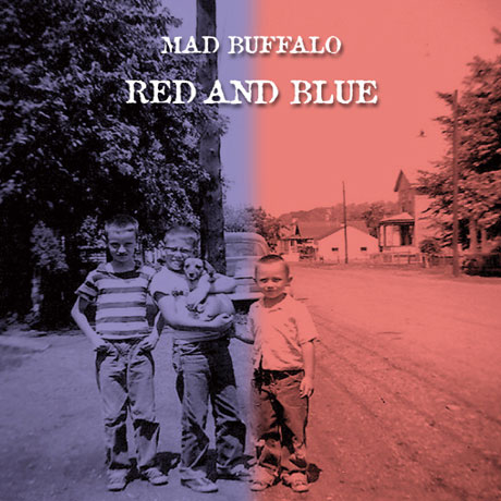 Mad Buffalo Red And Blue