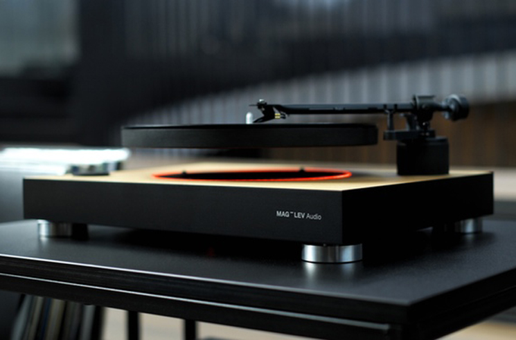 A Levitating Turntable Could Make Your Records Defy Gravity