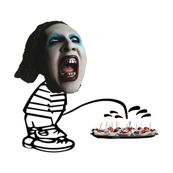 Marilyn Manson Says He Used to Piss on Korn's Catering