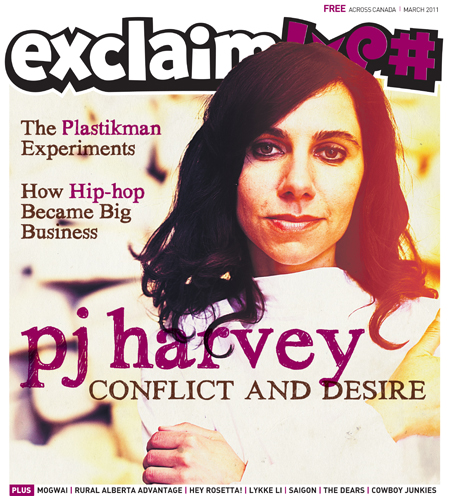Dig Into Exclaim!'s March Issue with PJ Harvey, Rural Alberta Advantage, Richie Hawtin, Josh Homme and More