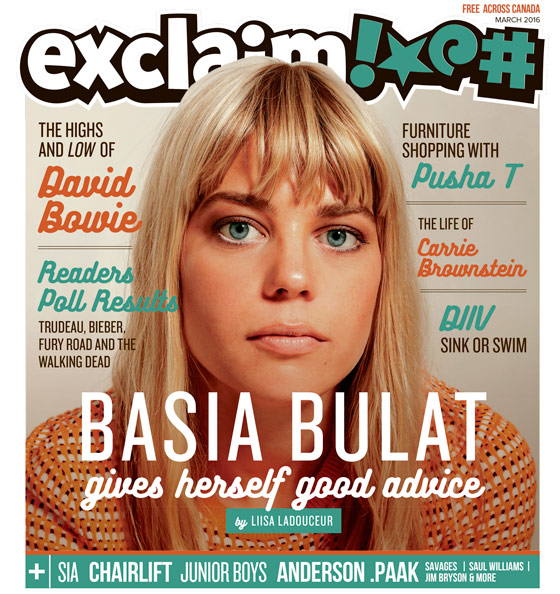 Basia Bulat, David Bowie, Pusha T and Our Readers Poll Results Fill Exclaim!'s February Issue