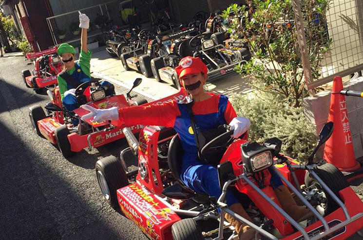 Nintendo Is Suing a Tokyo Go-Kart Company for Copyright Infringement