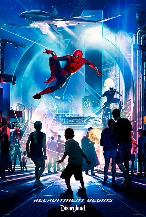 Marvel Themed Parks Coming to Disneyland