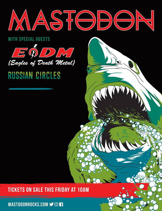 Mastodon Map Out Spring Tour with Eagles of Death Metal and Russian Circles
