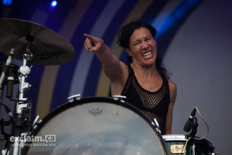 Matt & Kim Whistler Stage, Pemberton BC, July 18
