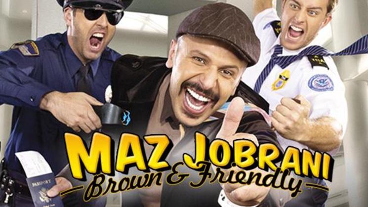 Maz Jobrani Brown and Friendly
