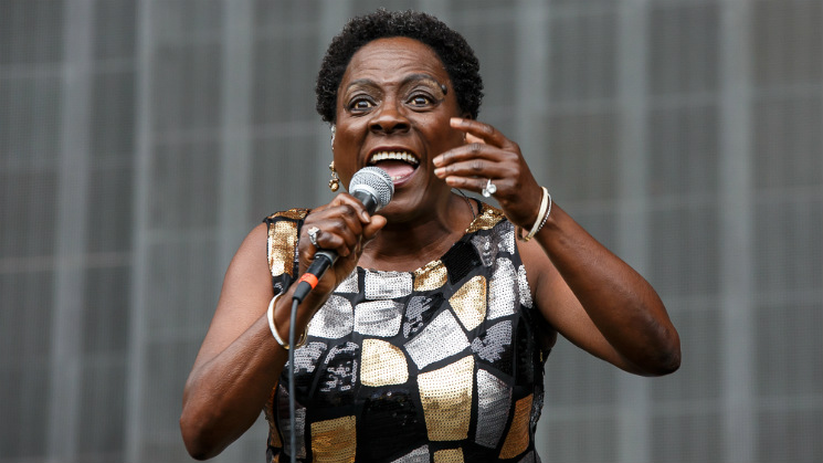 ​Sharon Jones & the Dap-Kings Tantalus Stage, Squamish BC, August 8