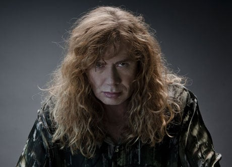 "Megadeth's Dave Mustaine Accuses Obama of ""Staging"" Shooting Massacres"