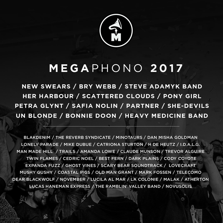 Ottawa's MEGAPHONO Festival Gets Bry Webb, New Swears, Steve Adamyk Band for 2017 Edition