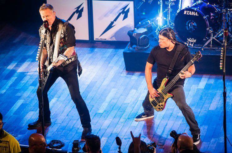 Metallica The Opera House, Toronto ON, November 29