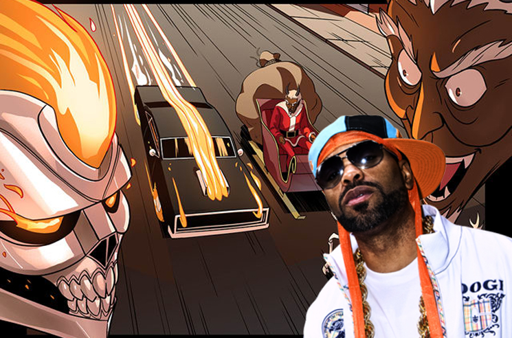 Method Man Wrote a Christmas-themed 'Ghost Rider' Comic for Marvel