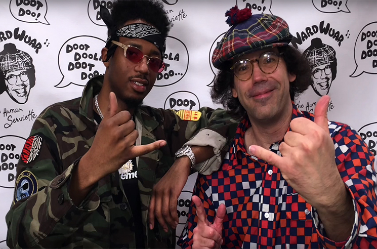 Nardwuar the Human Serviette vs. Metro Boomin