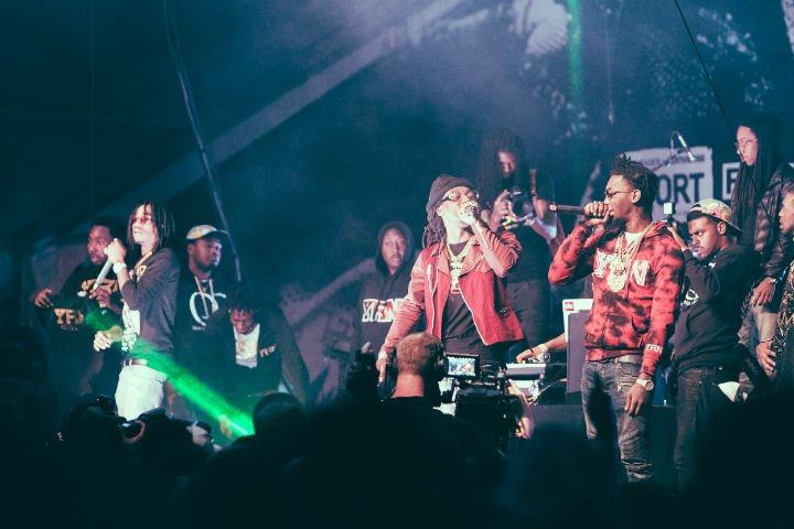 Migos Fader Fort, Austin TX, March 20