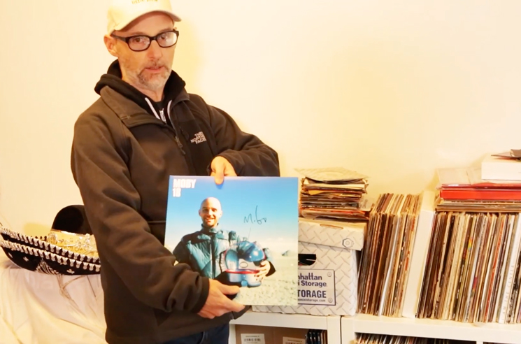 Moby Is Selling His Record Collection for Charity