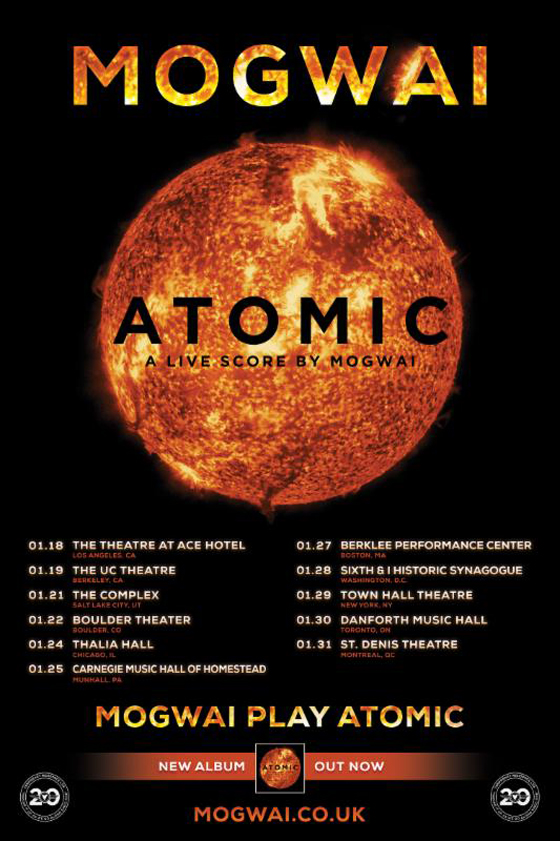 Mogwai Take 'Atomic' Score on North American Tour