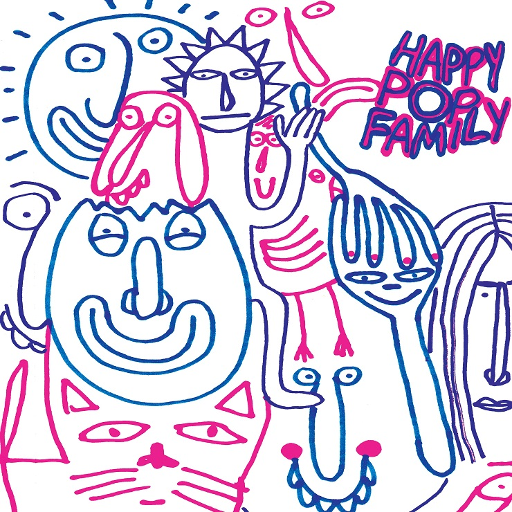 Monomyth Return with 'Happy Pop Family'