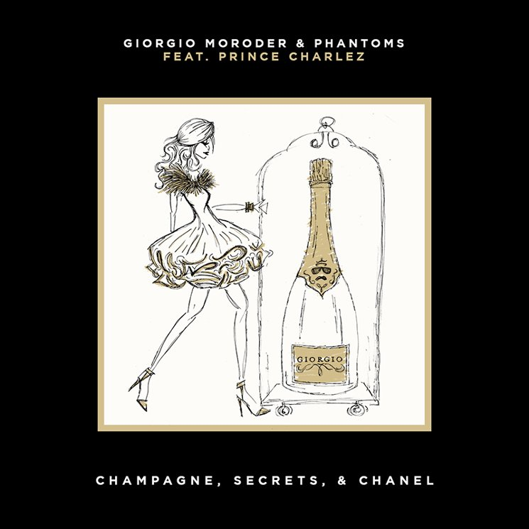 "Giorgio Moroder & Phantoms ""Champagne, Secrets, & Chanel"" (ft. Prince Charlez)"