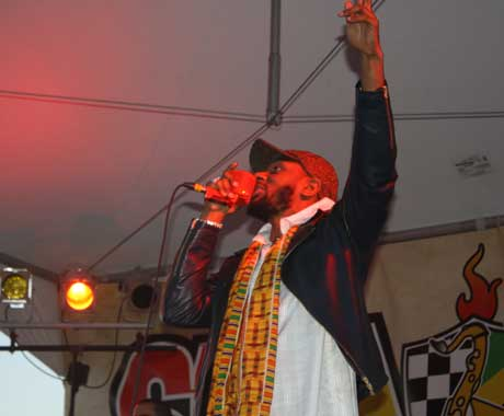 Yasiin Bey Ship Point, Victoria BC, July 15