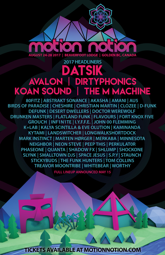 BC's Motion Notion Festival Rolls Out Initial 2017 Lineup