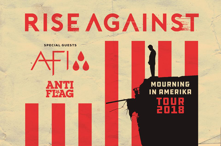 "Rise Against Get AFI and Anti-Flag for ""Mourning in Amerika Tour"""