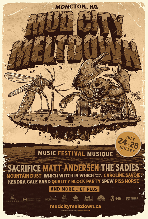 Moncton's Mud City Meltdown Reveals 2018 Lineup