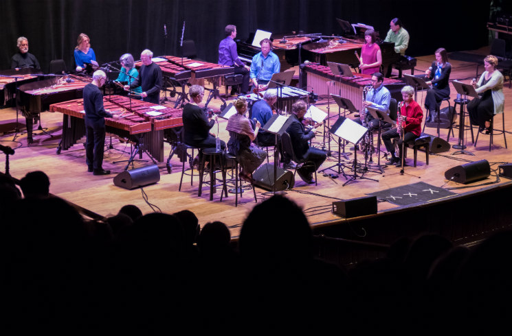 'Steve Reich at 80' featuring Steve Reich, Jesse Zubot, Lori Freedman and Original Steve Reich Ensemble Players Massey Hall, Toronto ON, April 14