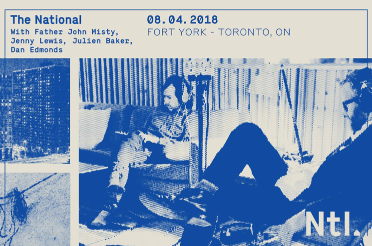 The National Announce Toronto Show with Father John Misty, Jenny Lewis, Julien Baker