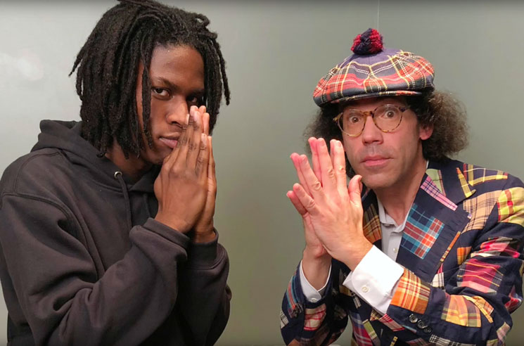 Nardwuar the Human Serviette vs. Daniel Caesar