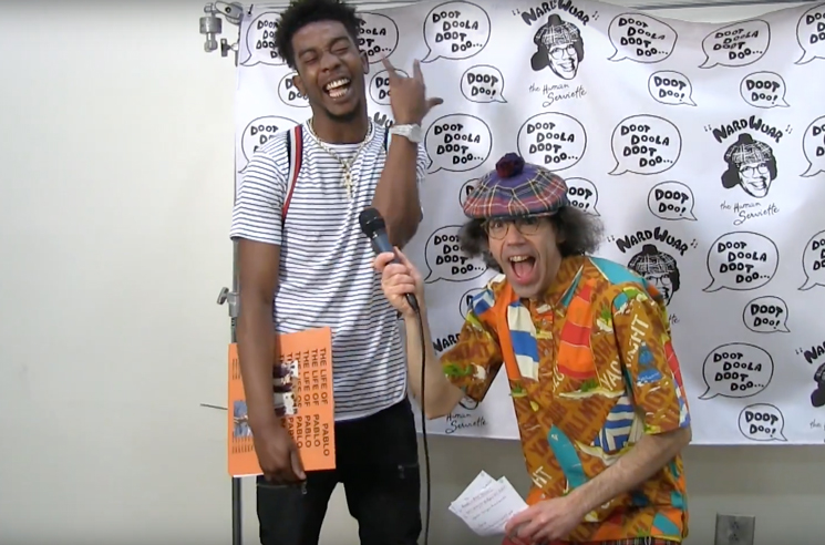 Nardwuar the Human Serviette vs. Desiigner