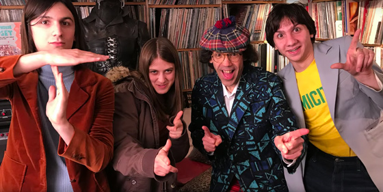 Nardwuar the Human Serviette vs. the Lemon Twigs
