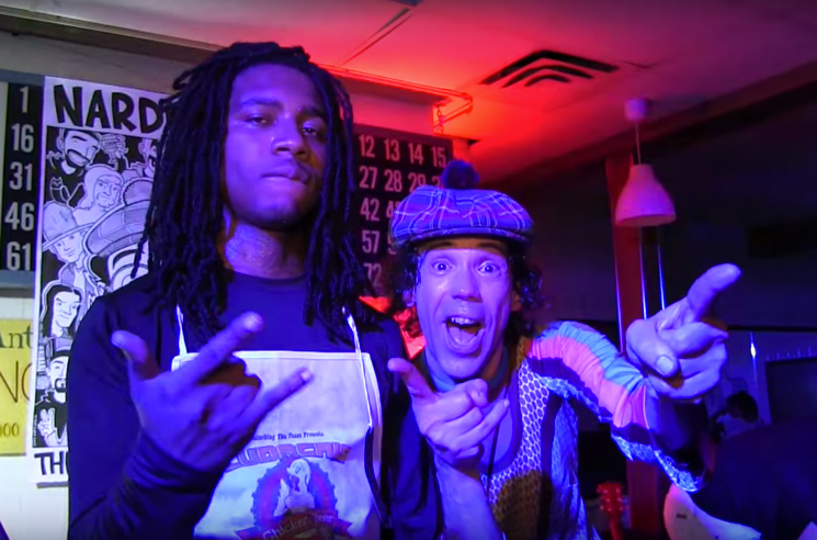 Watch Lil B Celebrate Nardwuar's 30th Anniversary in Vancouver