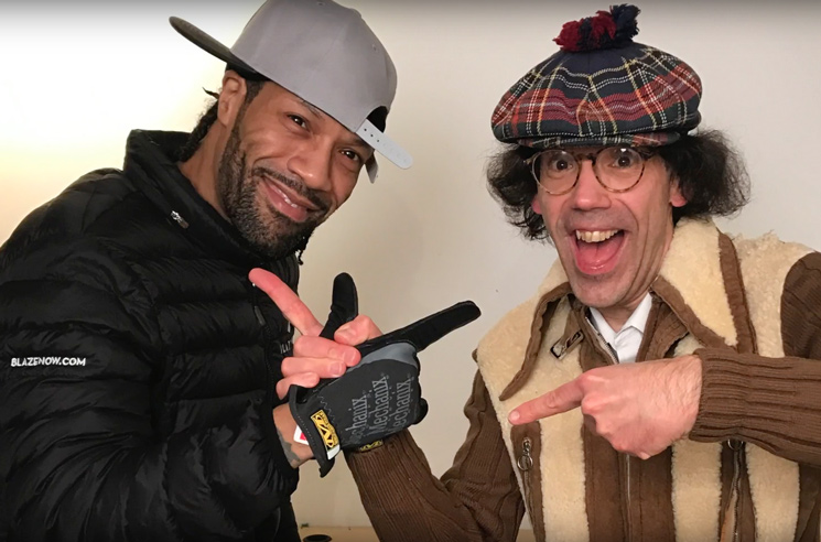 Nardwuar the Human Serviette vs. Redman
