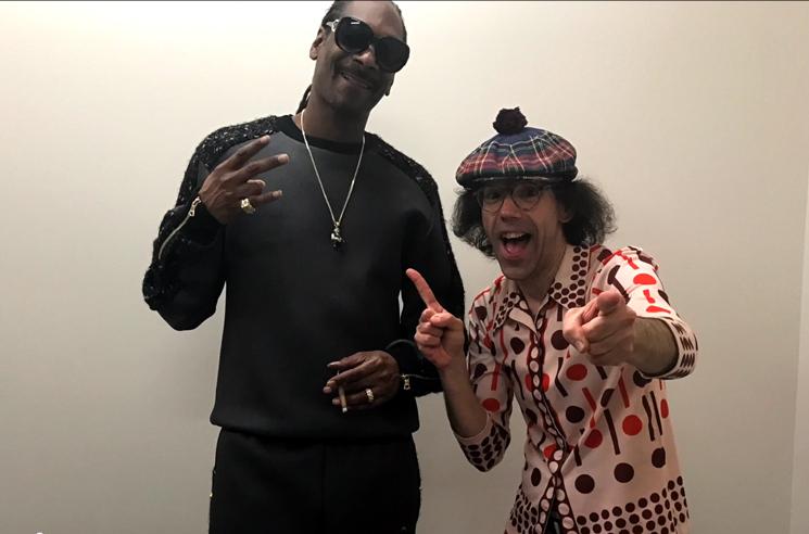 Nardwuar the Human Serviette vs. Snoop Dogg