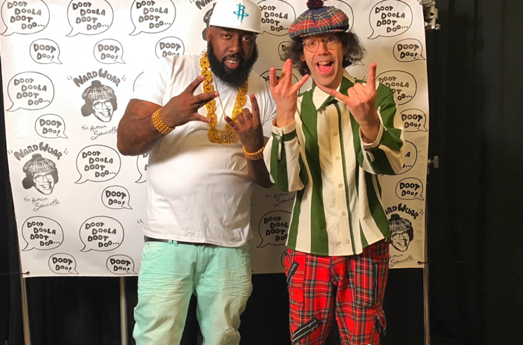 Nardwuar the Human Serviette vs. Trae tha Truth