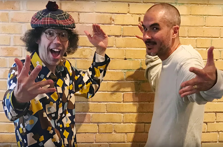 Nardwuar the Human Serviette vs. Zane Lowe