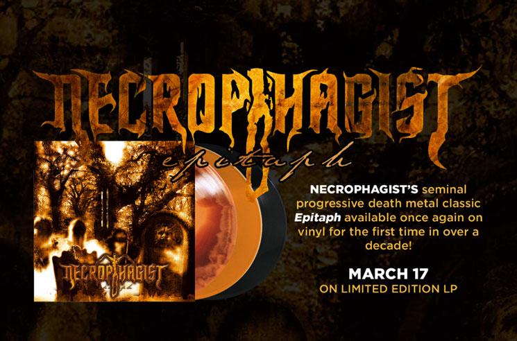 Necrophagist Bring 'Epitaph' Back to Vinyl