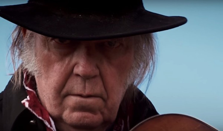 "Neil Young Rectifies ""Massive Fuck Up"" by Getting Barclays Bank Dropped from London Show"