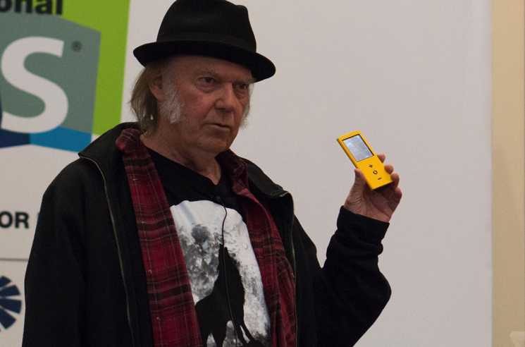 Neil Young Says Major Labels Killed Pono