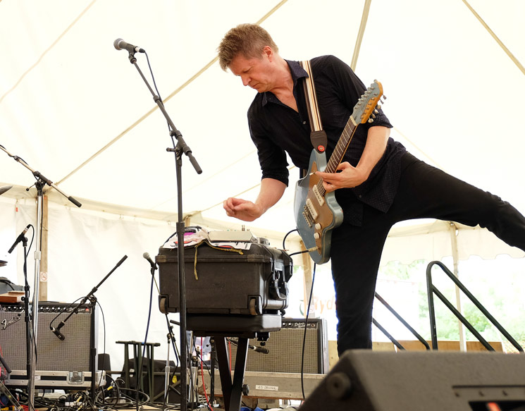 Nels Cline Singers Island Stage, Guelph ON, July 26