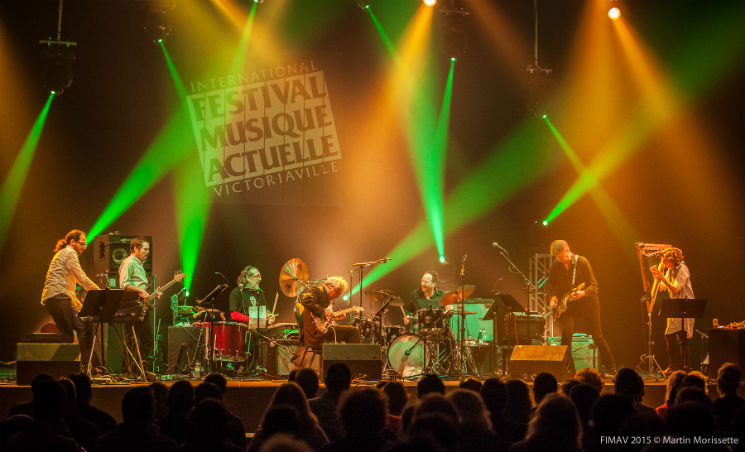 The Nels Cline Singers Unlimited Colisée A, Victoriaville QC, May 16