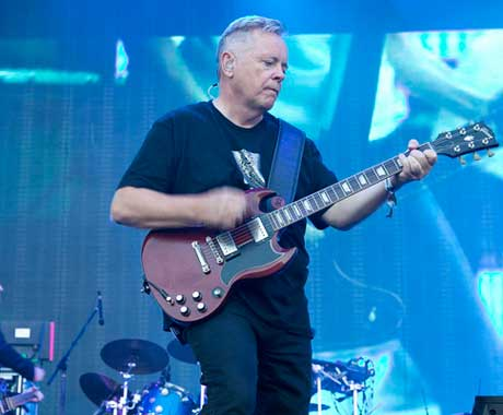 New Order Mountain Stage, Montreal QC, August 4