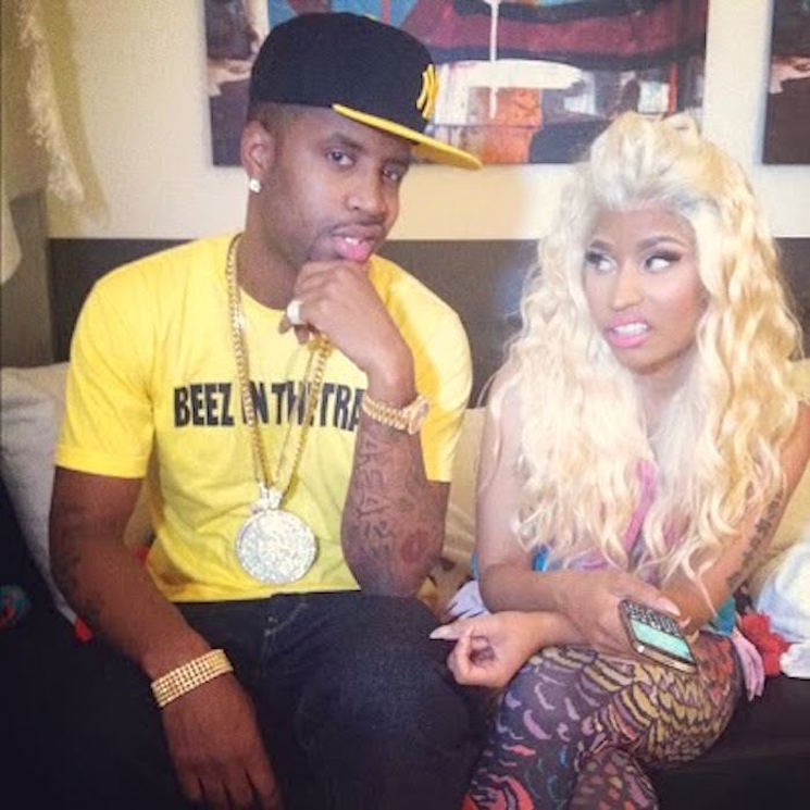 Nicki Minaj's Ex-Boyfriend Suing for Royalties