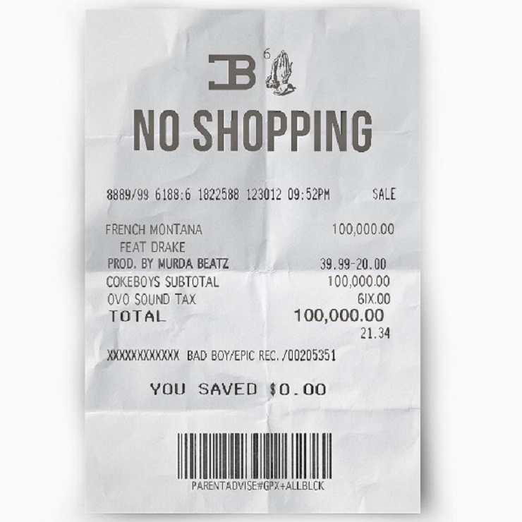 "French Montana Reveals New Drake Team-Up ""No Shopping"""