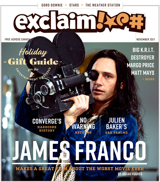 James Franco, Converge and Our Annual Holiday Gift Guide Fill Exclaim!'s November Issue