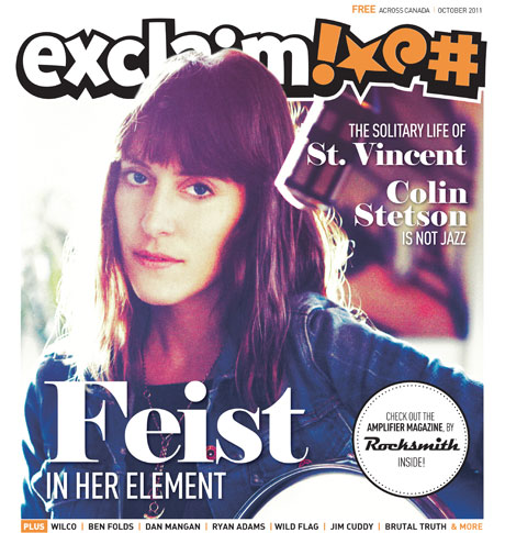 Feist, Dan Mangan, Ben Folds and St. Vincent Grace Exclaim!'s Pages in Our New October Issue