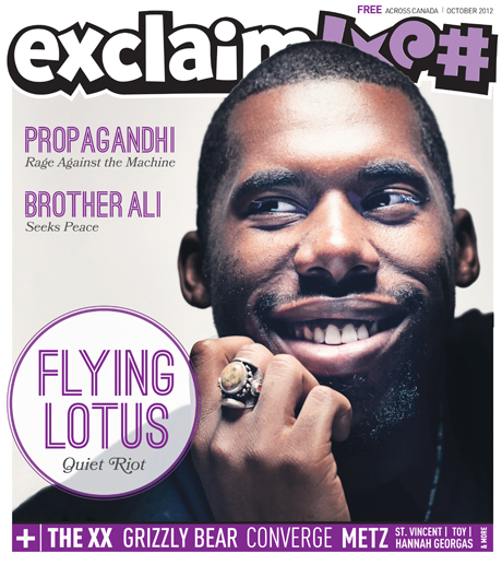 Flying Lotus, Propagandhi, St. Vincent, METZ and More Fill Exclaim!'s New October Issue